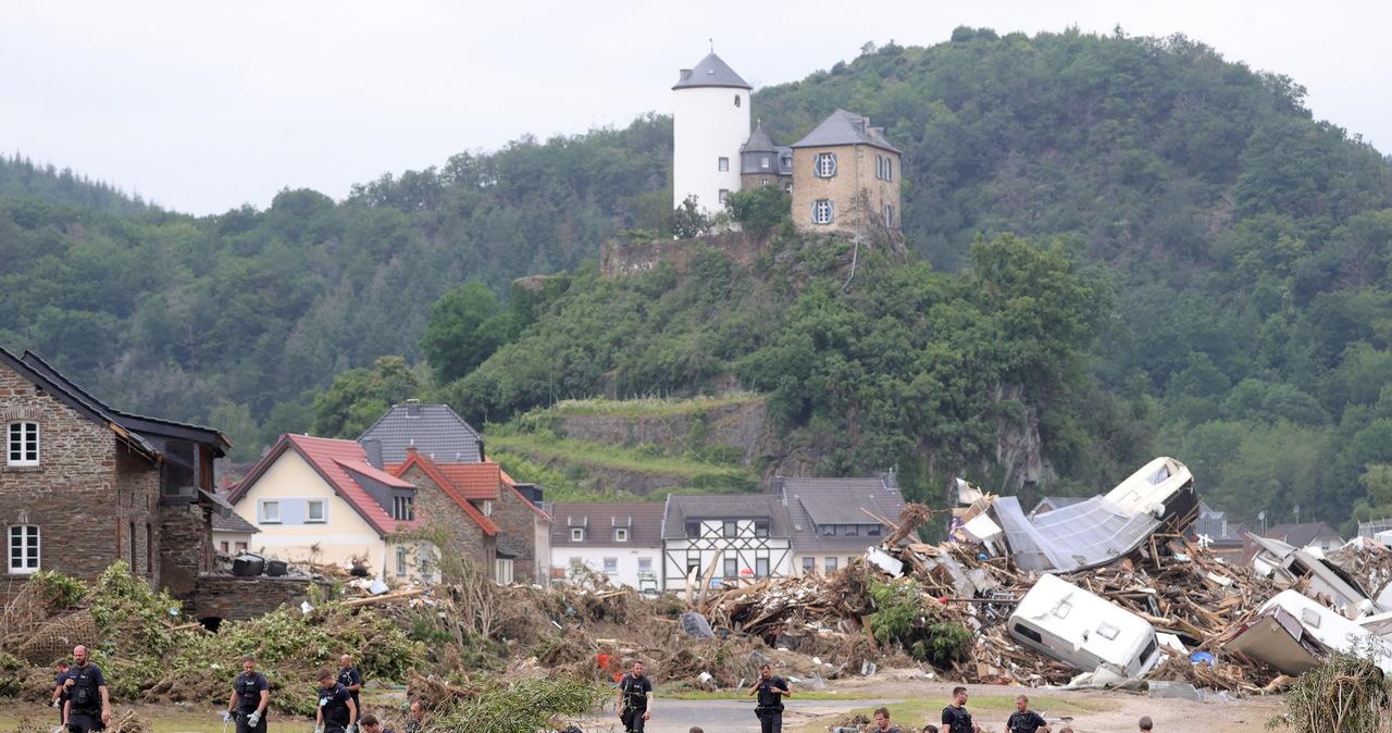 Po katastrofalnych powodziach w Niemczech tysiąc osób poszukiwanych