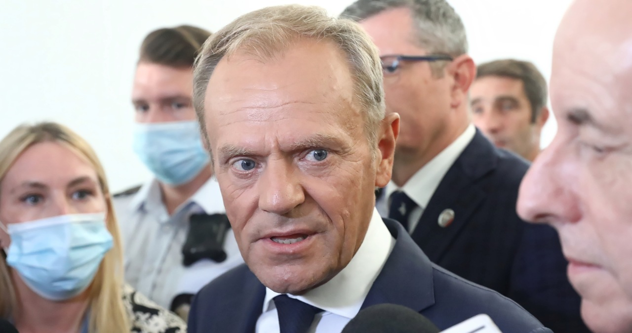 Tusk: Jak Waszyngton patrzy na Warszawę, to widzi same problemy