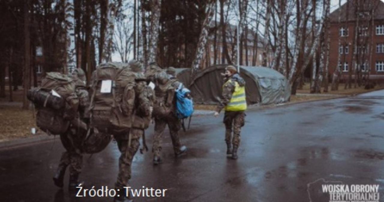 MON podnosi gotowość terytorialsów  w związku z sytuacją przy granicy z Białorusią