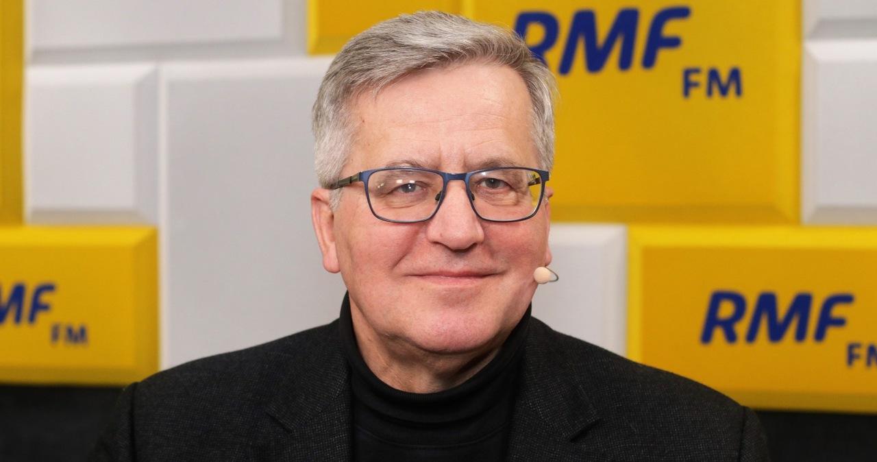 Bronisław Komorowski gościem Piotra Salaka w Popołudniowej rozmowie w RMF FM