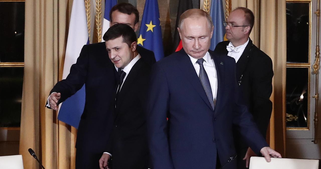Prezydent Ukrainy nie wykluczył pełnowymiarowej wojny z Rosją
