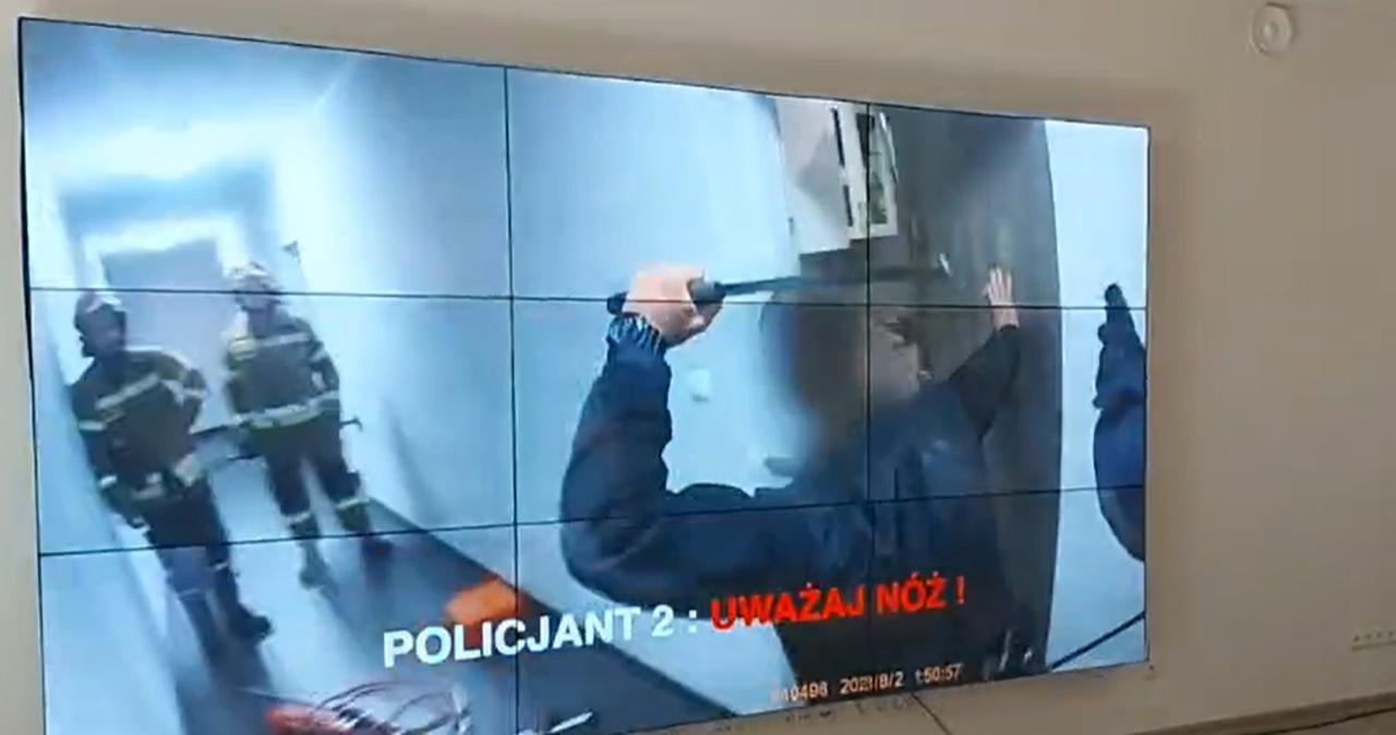 29-latek zmarł po interwencji. Policja pokazuje nagranie