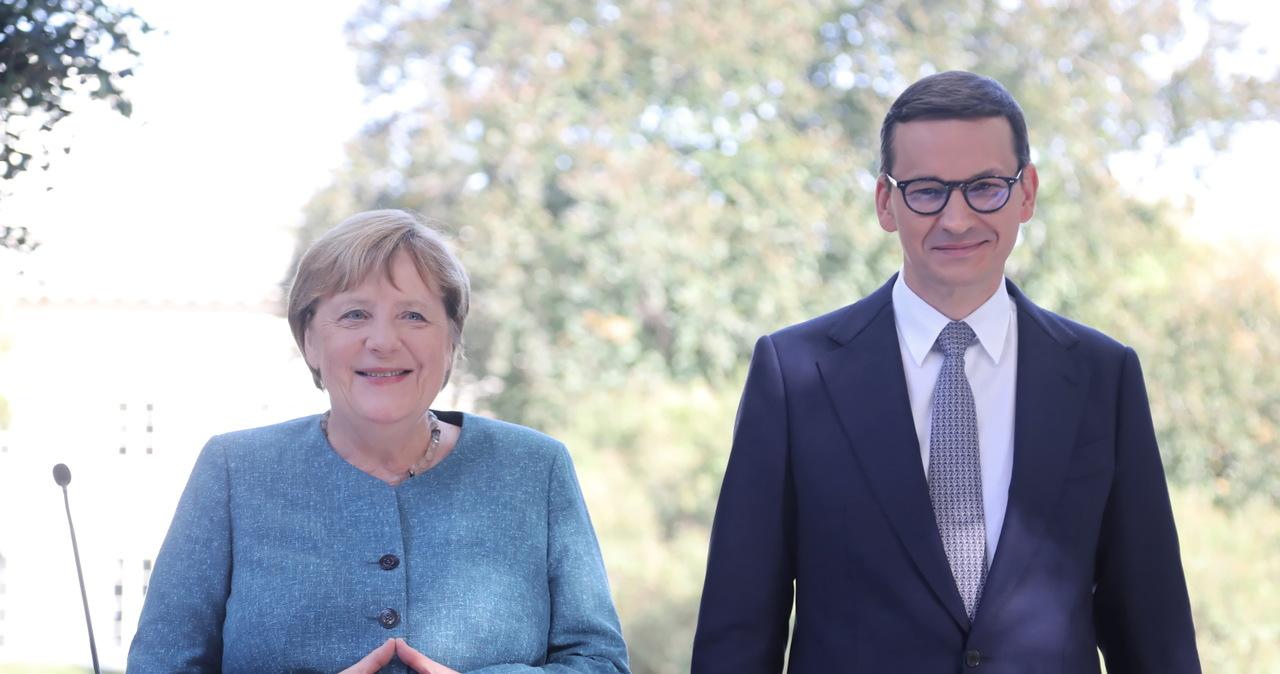 """Spotkanie Merkel z Morawieckim. """"Musimy chronić zewnętrznych granic UE"""""""
