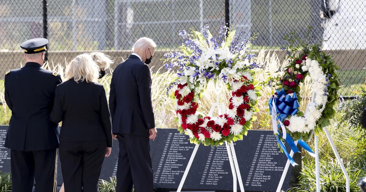 """Joe Biden upamiętnił ofiary 11 września. """"Ameryka i świat pamiętają o Was"""""""