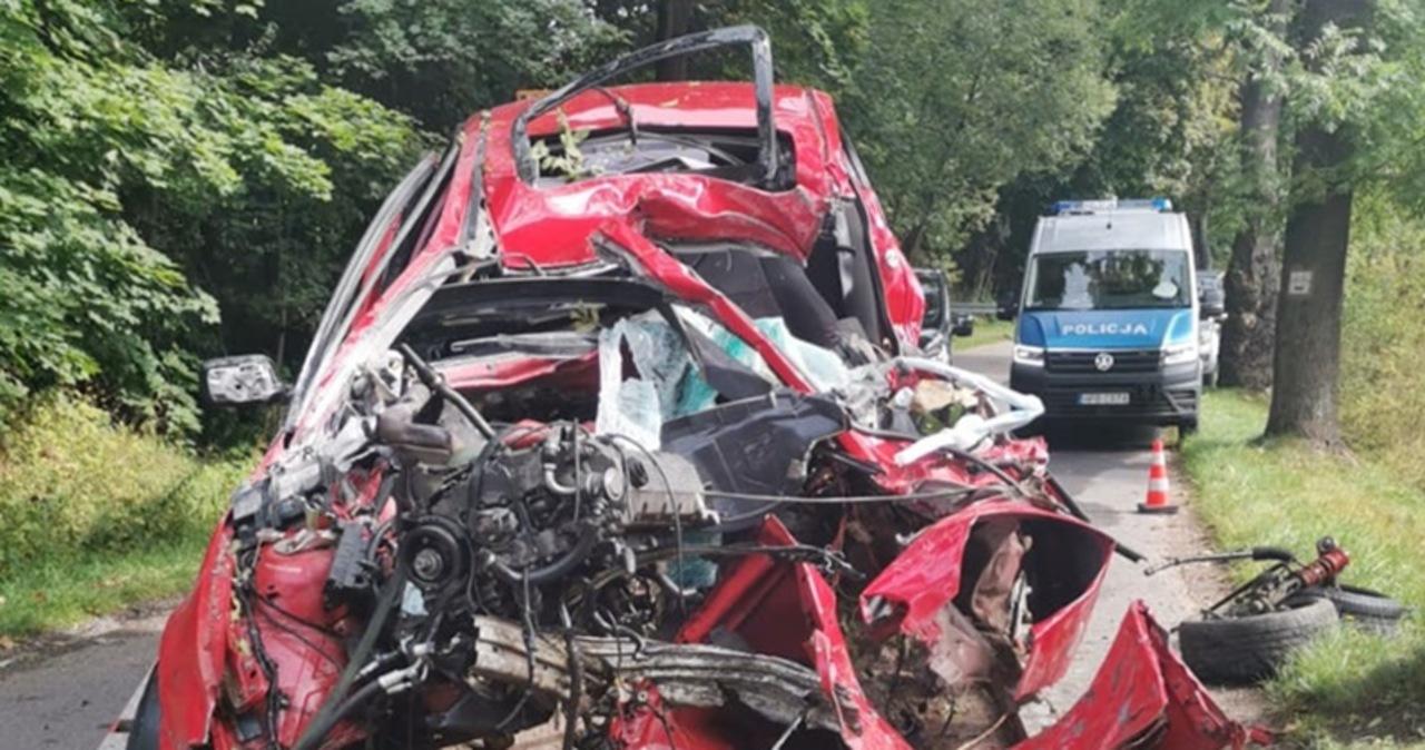 Tragiczny wypadek na Dolnym Śląsku. Nie żyje 22-latek