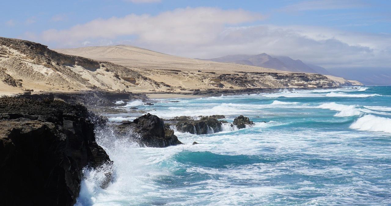 Wstrząsy sejsmiczne w rejonie Wysp Kanaryjskich