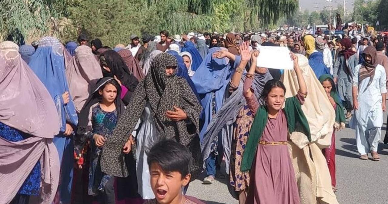 Protest w Kandaharze. Talibowie chcą eksmitować byłych żołnierzy z ich domów