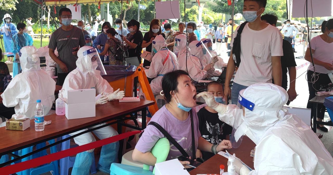 Koronawirus w chinach. Surowy lockdown w 5-milionowym mieście