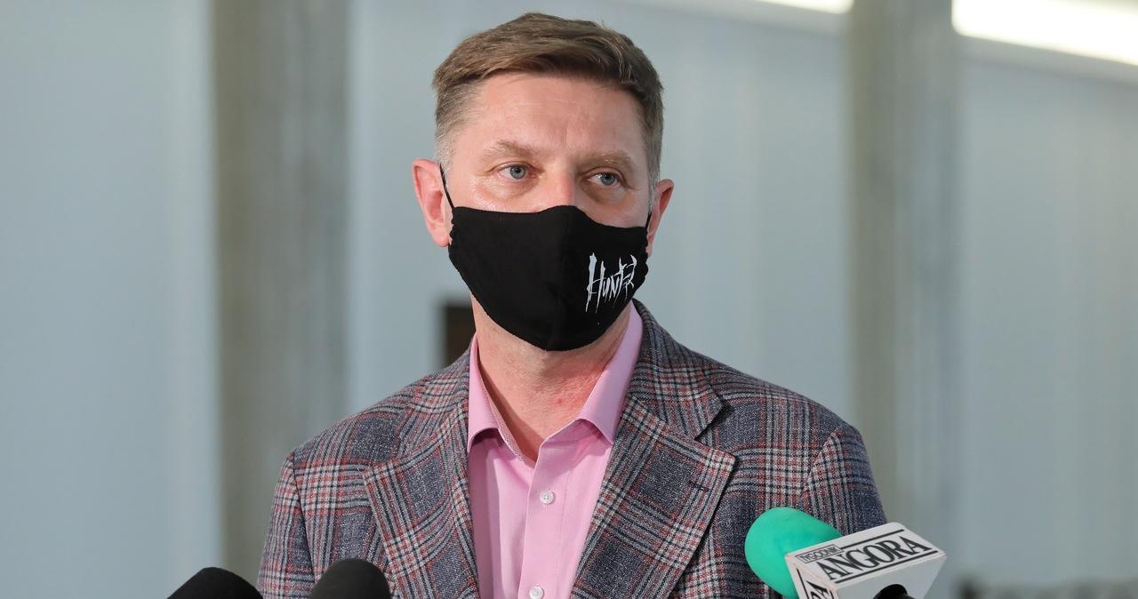 Andrzej Rozenek ukarany naganą przez władze klubu Lewicy