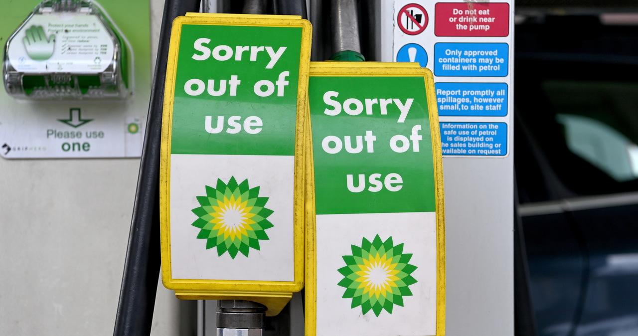 Wielka Brytania: Kolejki przed stacjami benzynowymi, ograniczenia w sprzedaży paliwa