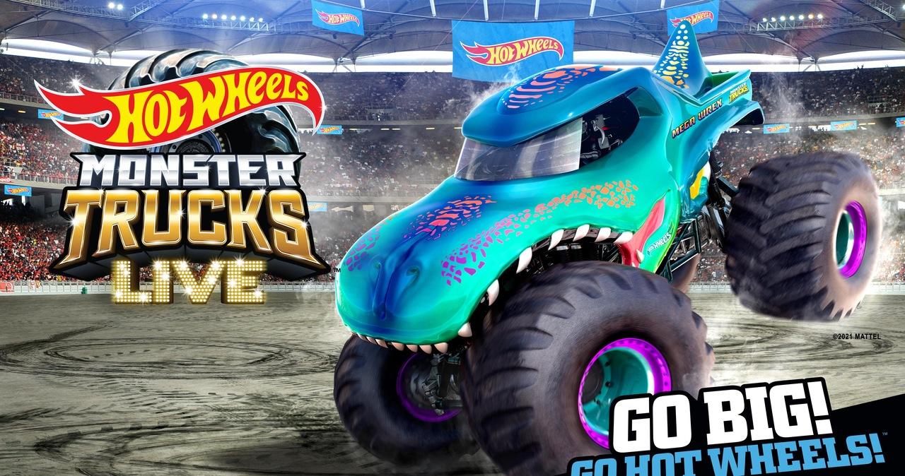 Hot Wheels Monster Trucks Live - pokazy w Polsce