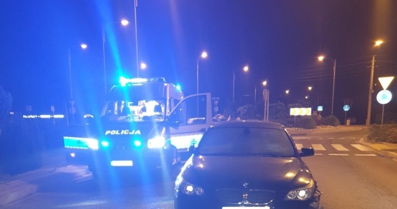 Pijany kierowca potrącił policjantów w Oświęcimiu