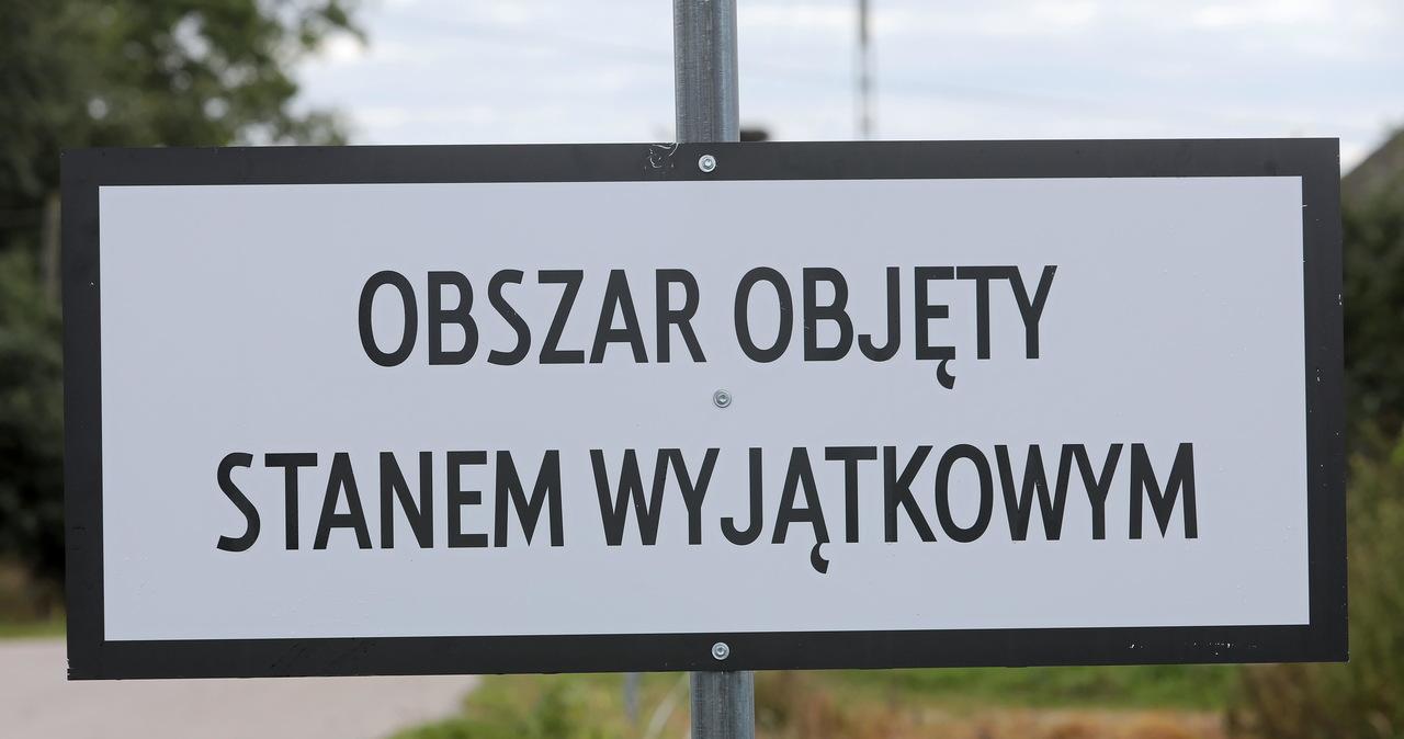 Rząd chce przedłużenia stanu wyjątkowego na granicy z Białorusią
