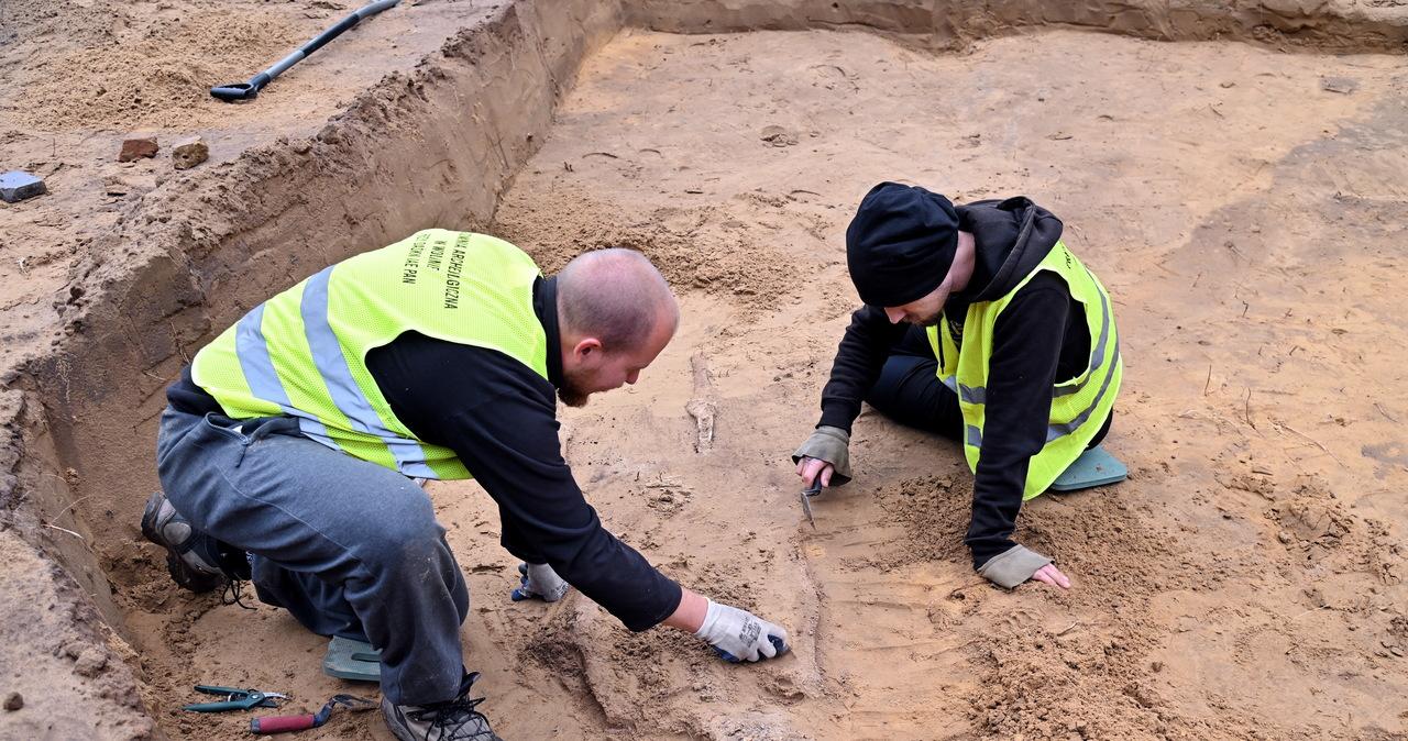 Średniowieczne kurhany odkryte na Wzgórzu Wisielców