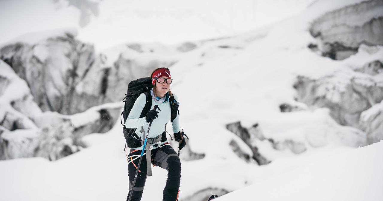 Historyczny sukces Anny Tybor. Polka zjechała na nartach z Manaslu