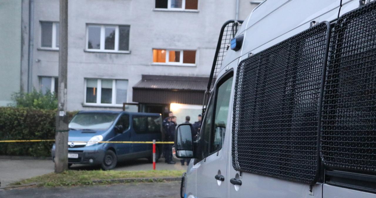 Potężny arsenał w Krakowie. Trwają przeszukania w dwóch kolejnych miejscach