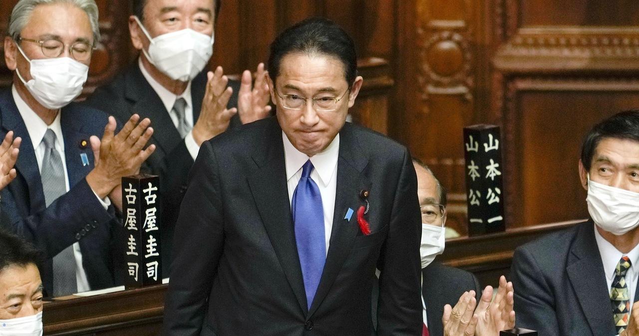 Fumio Kishida został nowym premierem Japonii