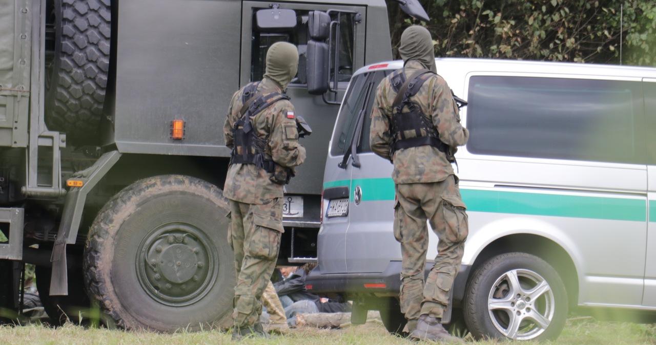 Prawie 600 prób nielegalnego przekroczenia granicy polsko-białoruskiej