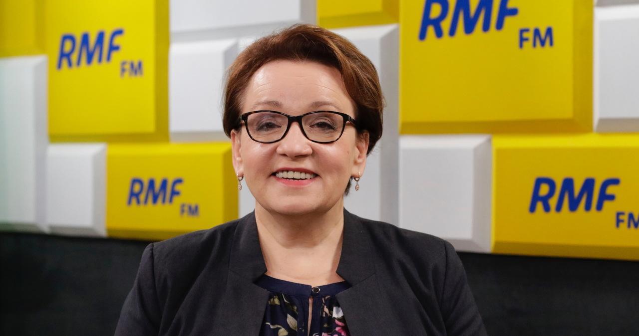 Anna Zalewska gościem Popołudniowej rozmowy w RMF FM