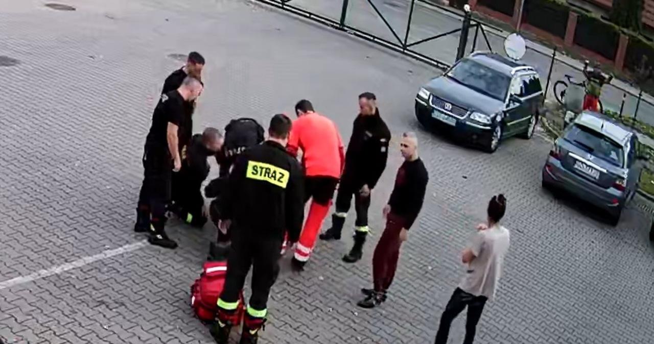 Dramatyczne sceny w Gdańsku. Niemowlę przestało oddychać, pomogli strażacy