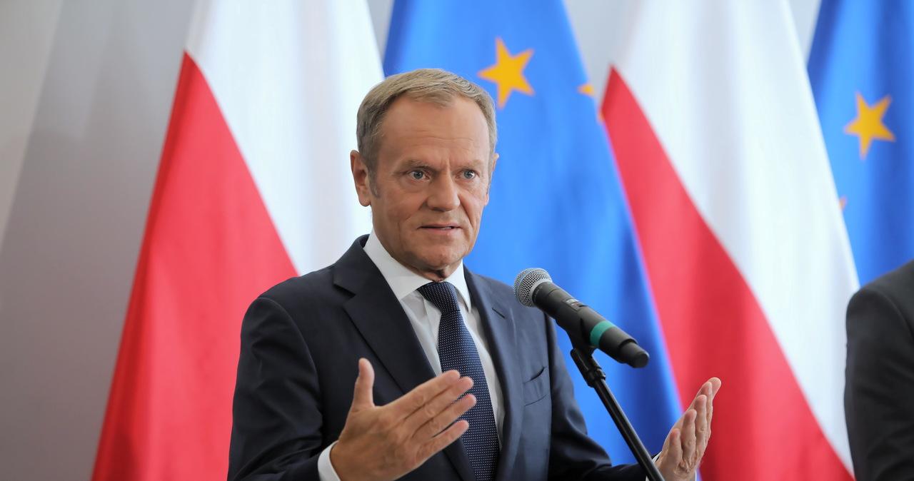 Tusk: Mamy do czynienia z władzą, która w swoim rdzeniu jest antyeuropejska