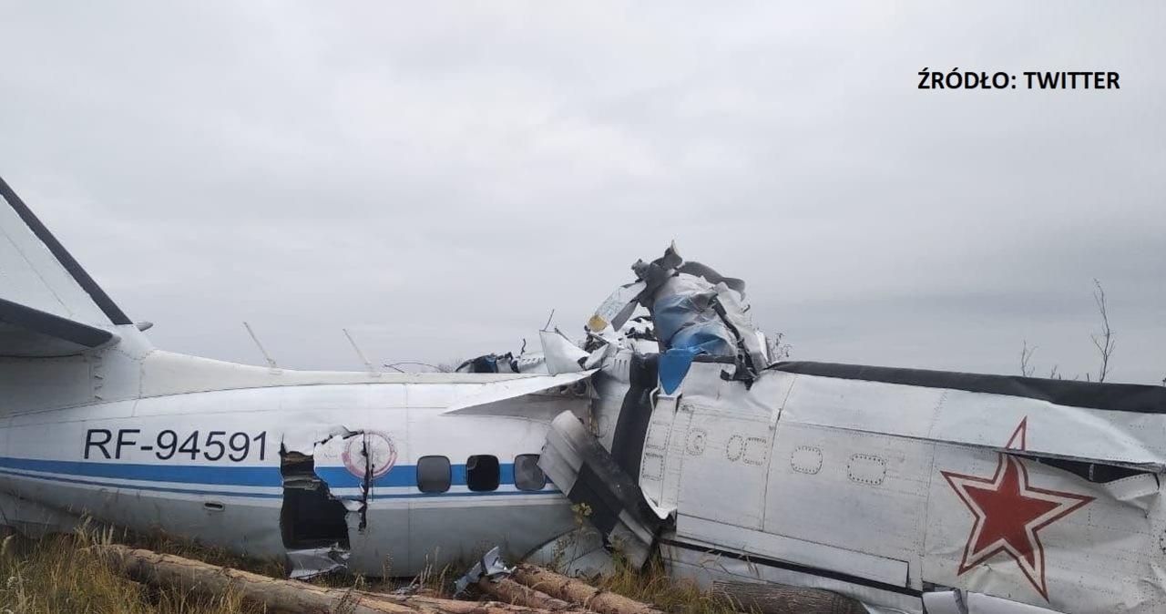 W Rosji rozbił się samolot. Zginęło 15 osób