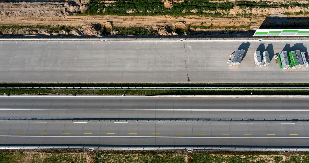 Łódzie: Przejazd budowaną autostradą A1 będzie łatwiejszy