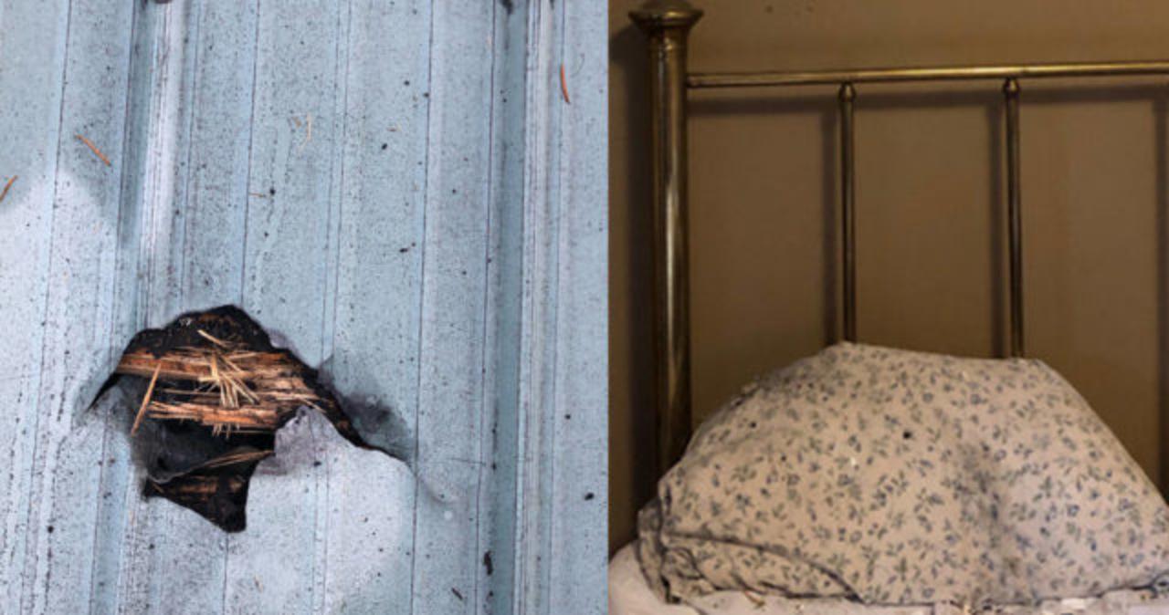 Meteoryt przebił dach i spadł na poduszkę… śpiącej kobiety