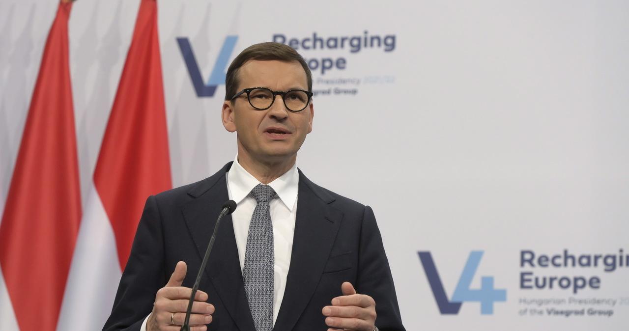 Premier Morawiecki chce wystąpić w PE. Rzecznik rządu potwierdza informacje RMF FM