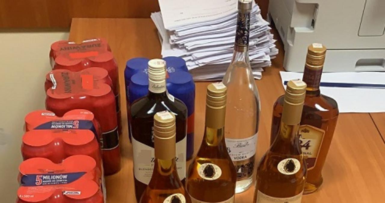 Kradł alkohol, by… zaoszczędzić na inne wydatki