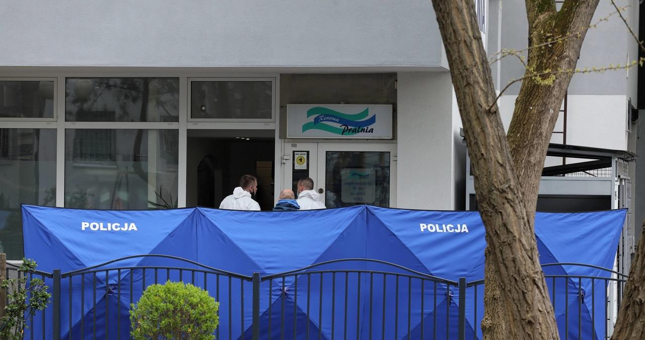 Zabójstwo w pralni na Gocławiu. Nie ma decyzji o umorzeniu sprawy